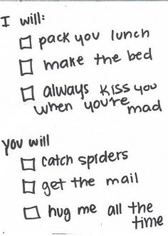 find a man to agree to these things :)