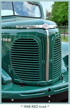 1948 REO Truck Maintenance/restoration of old/vintage vehicles: the material for… New Trucks, Cool Trucks, Pickup Trucks, Cool Cars, Mack Trucks, Antique Trucks, Vintage Trucks, Station Wagon, Classic Chevy Trucks