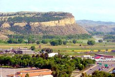 Sacrifice Cliff on the Yellowstone River, Billings, Montana