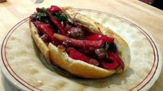 Sausage and Peppers Recipe - Laura in the Kitchen - Internet Cooking Show Starring Laura Vitale