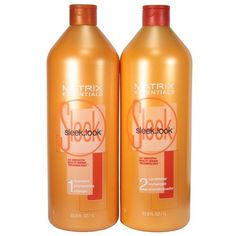 Matrix Sleek Look Shampoo and Conditioner Duo oz) - Sleek.look blends ceramide, shea butter and apricot oil to help REPAIR damage, CONDITION hair and CONTROL frizz with long-lasting humidity protection for shine and all-day smoothness. Natural Hair Care, Natural Hair Styles, Matrix Hair, Good Shampoo And Conditioner, Frizz Control, Coarse Hair, Best Shampoos, Smooth Hair, Thick Hair