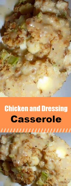 Beer and Horseradish Slow Cooker Beef Stew This casserole is a real favorite in our area and in my family, too. Chicken Recipe For One Person, Baked Chicken, Chicken Recipes, Chicken Feed, Casserole Dishes, Casserole Recipes, Vegan Recipes, Cooking Recipes, Delicious Recipes
