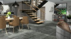 Creation d'un interieur 3d style atelier chic. Interior design 3d creation. www.passionnement-meuble.com