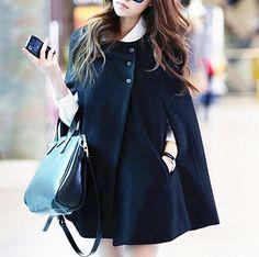 Free Size   Material: Wool      Bust: Free  Shoulder: 35cm  Front Length: 65cm   Back Length: 71cm
