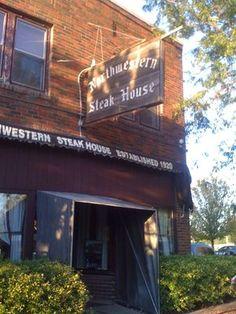 Northwestern Steak House. Mason City, IA.