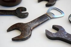 Wrench Bottle Opener by 40WestMetalWorks on Etsy