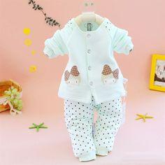 Baby Infant  2 Pieces Rosette Girl Jacket Set TZ0096D $6.50