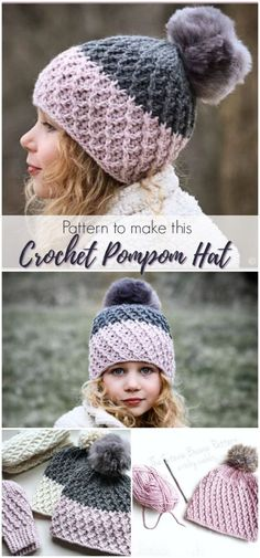 e8d2faa868b Textured Crochet Beanies -. Womens Crochet HatsCrochet Scarves For  MenCrochet ...
