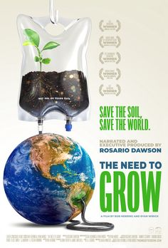 Can we feed the world without destroying it? Rosario Dawson's award-winning film The Need To GROW shows the SOLUTIONS — and the real stories of the game-changing innovators behind them. Join in the online screening for free!