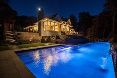 A Pool with Waterfall in Amagansett, House Included - On the Market - Curbed Hamptons