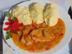 Rozi erdélyi,székely konyhája: Gombás sertészelet