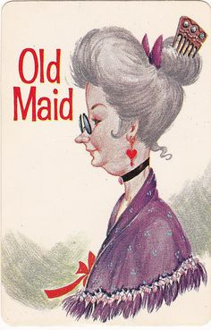 This was the set of Old Maid cards I had. Grandma was the best opponent because the Old Maid card always stuck up higher than any other card in her hand. My Childhood Memories, Childhood Toys, Great Memories, Vintage Cards, Vintage Toys, Retro Toys, Ol Days, The Good Old Days, Back In The Day