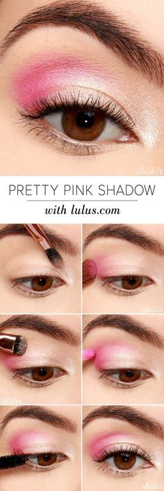 Best Eyeshadow Tutorials - Pretty Pink Eyeshadow Tutorial - Easy Step by Step Ho. - - Best Eyeshadow Tutorials - Pretty Pink Eyeshadow Tutorial - Easy Step by Step How To For Eye Shadow - Cool Makeup Tricks and Eye Makeup Tutorial With . Make Up Tutorials, Makeup Tutorial For Beginners, Makeup Products For Beginners, Eye Shadow For Beginners, Basic Makeup For Beginners, Best Eyeshadow, Makeup Eyeshadow, Makeup Brushes, Pink Eyeshadow Look