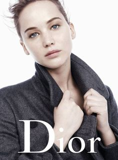 Jennifer Lawrence for Christian Dior 'Miss Dior' Fall/Winter 2013 Campaign by Willy Vanderperre
