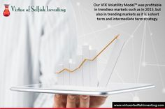 Our VIX Volatility Model™ was profitable in trendless markets such as in 2015, but also in trending markets as it is a short term and intermediate term strategy. Find out more at http://www.virtueofselfishinvesting.com