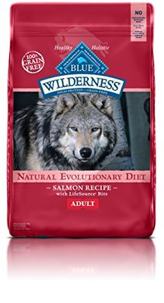 Blue Buffalo Wilderness Grain Free Dry Dog Food Salmon Recipe 24Pound Bag >>> Click image to review more details.