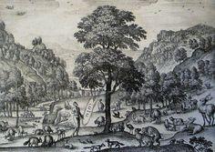The Phillip Medhurst Picture Torah 6. Adam in Eden. Genesis cap 2 v 16. Borcht