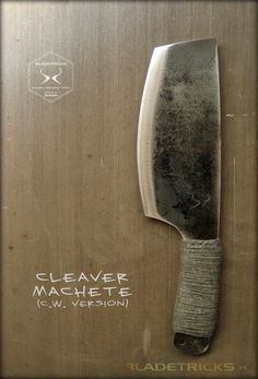 Bladetricks Cleaver Machete, C.W. Version