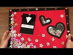 Birthday Scrapbook🎂 *New Crafts* MUST WATCH - Valentines Day - YouTube Handmade Anniversary Gifts, Handmade Birthday Cards, Birthday Greeting Cards, Birthday Crafts, Birthday Ideas, Handmade Gifts For Boyfriend, Handmade Gifts For Friends, Album Scrapbook, Birthday Scrapbook