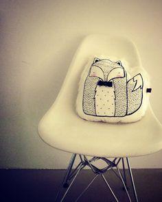Winter Mr Fox Cushion - LIMITED EDITION. $42.00, via Etsy.