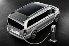 Mercedes Concept V-ision e: plug-in V-klasse | Autonieuws - AutoWeek.nl