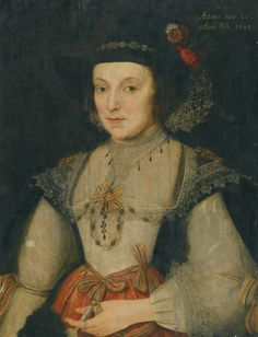 ca. 1629 Martha, daughter of Sir William Cokayne, of Rushton by Marcus Gheeraerts the Younger