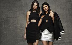 Scarica sfondi Kendall Jenner, Kylie Jenner, Hollywood, attrice, bellezza