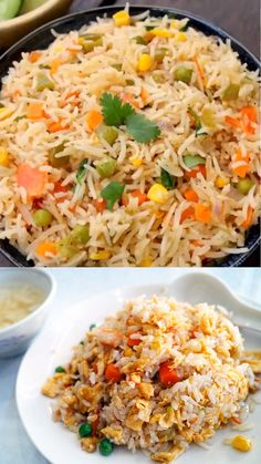 mexican rice recipe how to make restaurant style authentic mexican rice - Schwarzwälder Kirschtorte Mexican Rice Recipes, Rice Recipes For Dinner, Lunch Box Recipes, Side Dish Recipes, Gourmet Recipes, Cooking Recipes, Healthy Recipes, Vegetable Pulao Recipe, Best Rice Recipe