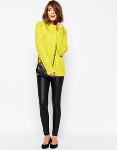 French Connection Glinka Chunky jumper.