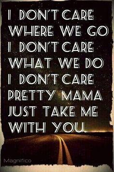 Take Me With U.  Lyric~ Prince.