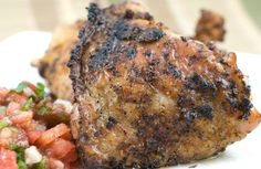CHILE & ROASTED GARLIC GRILLED CHICKEN: Combine hot chiles with sweet ...