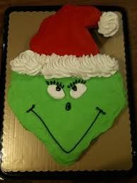 Grinch Cupcake Cake, photo only