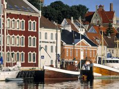 Harbour and Gamle Stavanger, Norway Photographic Print by Doug Pearson at Art.com