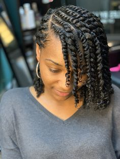 two strand twist natural hair Protective Hairstyles For Natural Hair, Natural Hair Braids, Girls Natural Hairstyles, Natural Hair Care, Natural Hair Styles, Natural Protective Styles, Natural Hair Weaves, Natural Hair Tutorials, Natural Twists