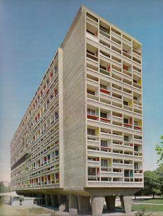 // Unidad de habitación / Le Corbusier