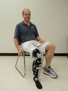 First Bionic Leg Allows Mind to Control Movement in Study