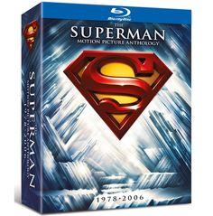 BARGAIN The Superman Motion Picture Anthology 1978-2006 [Blu-ray] JUST £15.90 At Amazon - Gratisfaction UK Bargains #bargains #superman