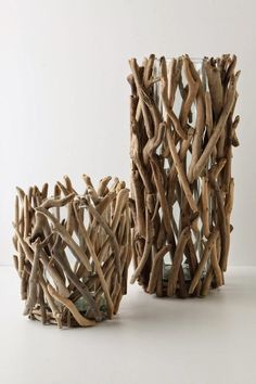 Wonderful DIY projects that you can do with driftwood - Diy Projekte - craft Twig Crafts, Beach Crafts, Diy Home Crafts, Cute Crafts, Diy Home Decor, Seashell Crafts, Nature Crafts, Jar Crafts, Driftwood Projects