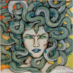 Medusa in Mythomorphia by Kerby Rosanes