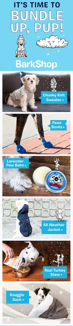 BarkShop.com (from the makers of BarkBox!) features curated collections of toys, treats, and other goodies for dogs & dog people. Everything we offer has been hand-picked by a team of puppy-pleasing perfectionists and then tested and approved by our own dogs. If we can�t find the thing we know you and your dog are looking for, we make it ourselves!
