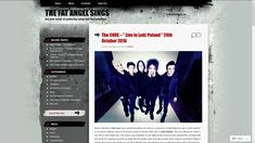 """The Cure - """"Live in Lodz Poland"""" 20th October 2016 
