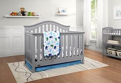 The #Graco Bryson Convertible Crib will add simple elegance to your baby's nursery. With large slats, sturdy posts and subtle curves, this crib is a timeless des...