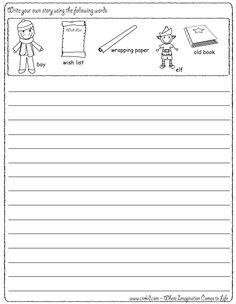 Christmas Writing Prompts ~ Christmas Theme ~ Christmas Tree ~ Santa ~ Elf ~ Elves ~ Snowflake ~ Snowman ~ Winter ~ Reindeer ~ Rudolph ~ Sleigh ~ Gifts ~ Story Starters ~ Story Stones ~ Writing Prompts ~ Drawing Prompts ~ Preschool ~ Kindergarten ~ First Grade ~ 2nd Grade ~ 3rd Grade ~ Homeschool ~ Creativity ~ Sentence Starters ~ Creativity ~ Imagination ~ First Grade ~ Second Grade ~ Third Grade ~ Christmas www.crekid.com