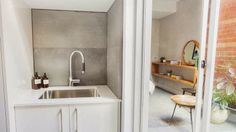 The Block 2014 ~ Bathroom / Laundry + Outdoor Terrace