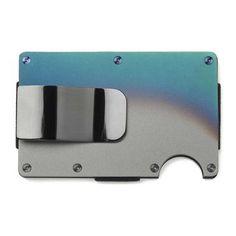 Ridge Wallet Titanium Wallet + Money Clip