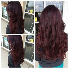 New hair #ombré #violet #purple #red #pravana #violettored #love #nofilter @salon202 #salon202 work done by one of my bests @cassderosa | Flickr - Photo Sharing!