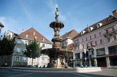 La Chaux-de-Fonds / Le Locle, Watchmaking Town Planning, Switzerland.
