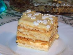 rozczochrane okruszki: Ciasto Aniołek. Polish Desserts, Polish Recipes, Polish Food, Sweet Recipes, Cake Recipes, Dessert Recipes, Sweets Cake, Cupcake Cakes, Polish Cake Recipe
