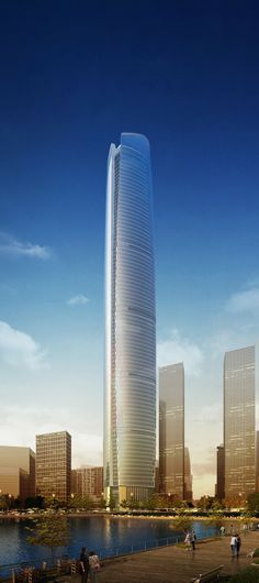 Wuhan Center, Wuhan, China by ECADI :: 88 floors, height 438m