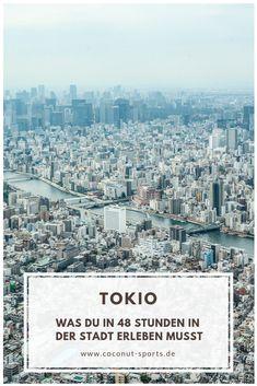 Nur wenig Zeit in Japan? Hier findet ihr alle Tokio Highlights in 48 Stunden. Themencafés und Sehenswürdigkeiten für zwei Tage in der Hauptstadt.